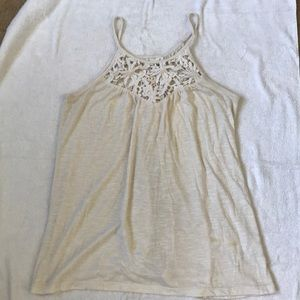 Others Follow Tops - White flowy tank top